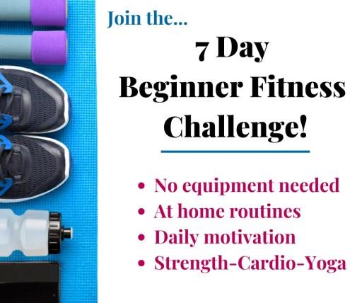 7-Day Beginner Fitness Challenge