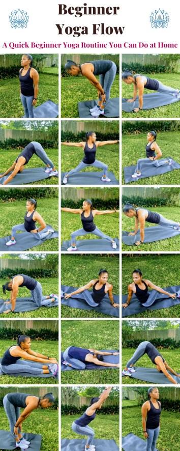 Beginner Yoga Flow: A Quick Beginner Yoga Routine