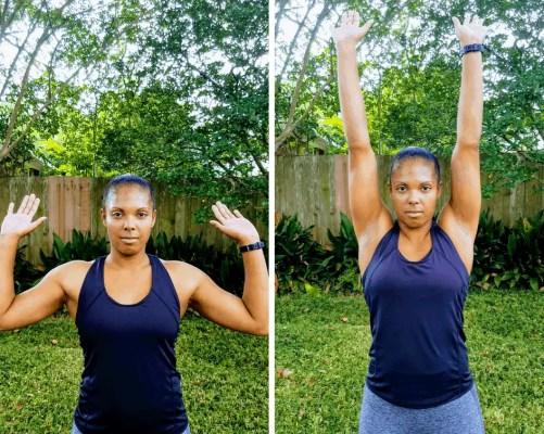Shoulder Presses - Full Body Beginner Workout