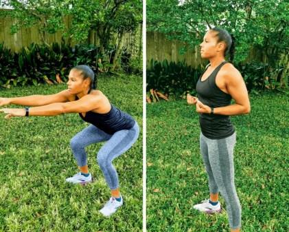 Squats - Full Body Beginner Workout