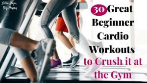 30 Great Beginner Cardio Workouts