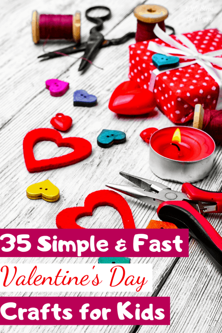 35 Easy Valentine's Day Crafts for Kids