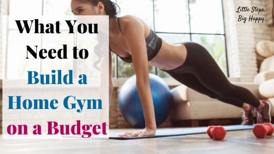 What You need to build a home gym on a budget