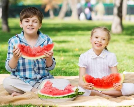 good habits for kids - eat healthy foods