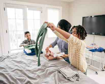 good habits for kids - daily chores