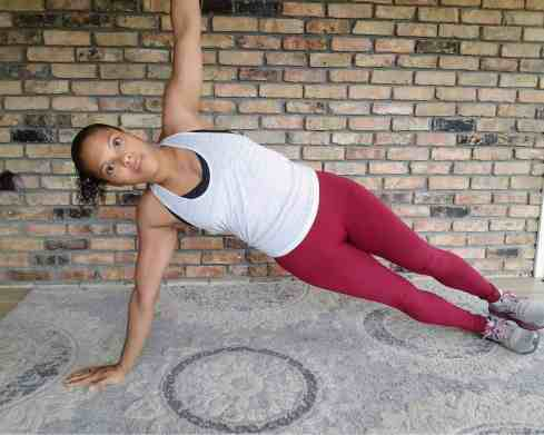 Side Plank Right - 20 Min Tabata Workout for Beginners: Abs & Arms
