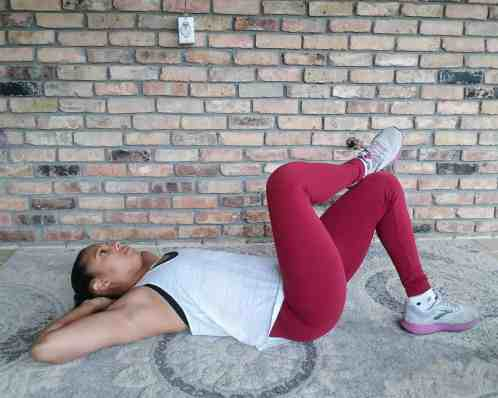 Cross Over Crunch - 20 Min Tabata Workout for Beginners: Abs & Arms
