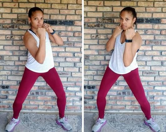 Uppercut Punches Beginner HIIT Workout No Equipment