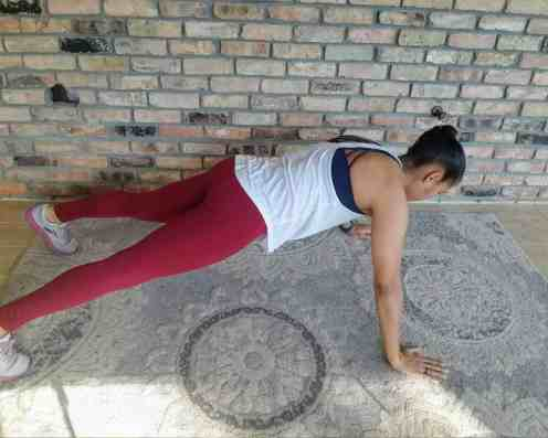 Lateral Plank Walks