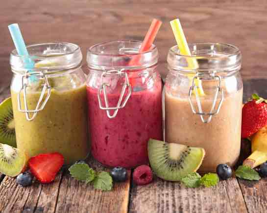 3 smoothies - how to make a smoothie without yogurt or milk