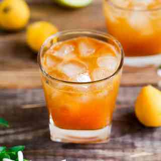 Loquat Vodka Cocktail