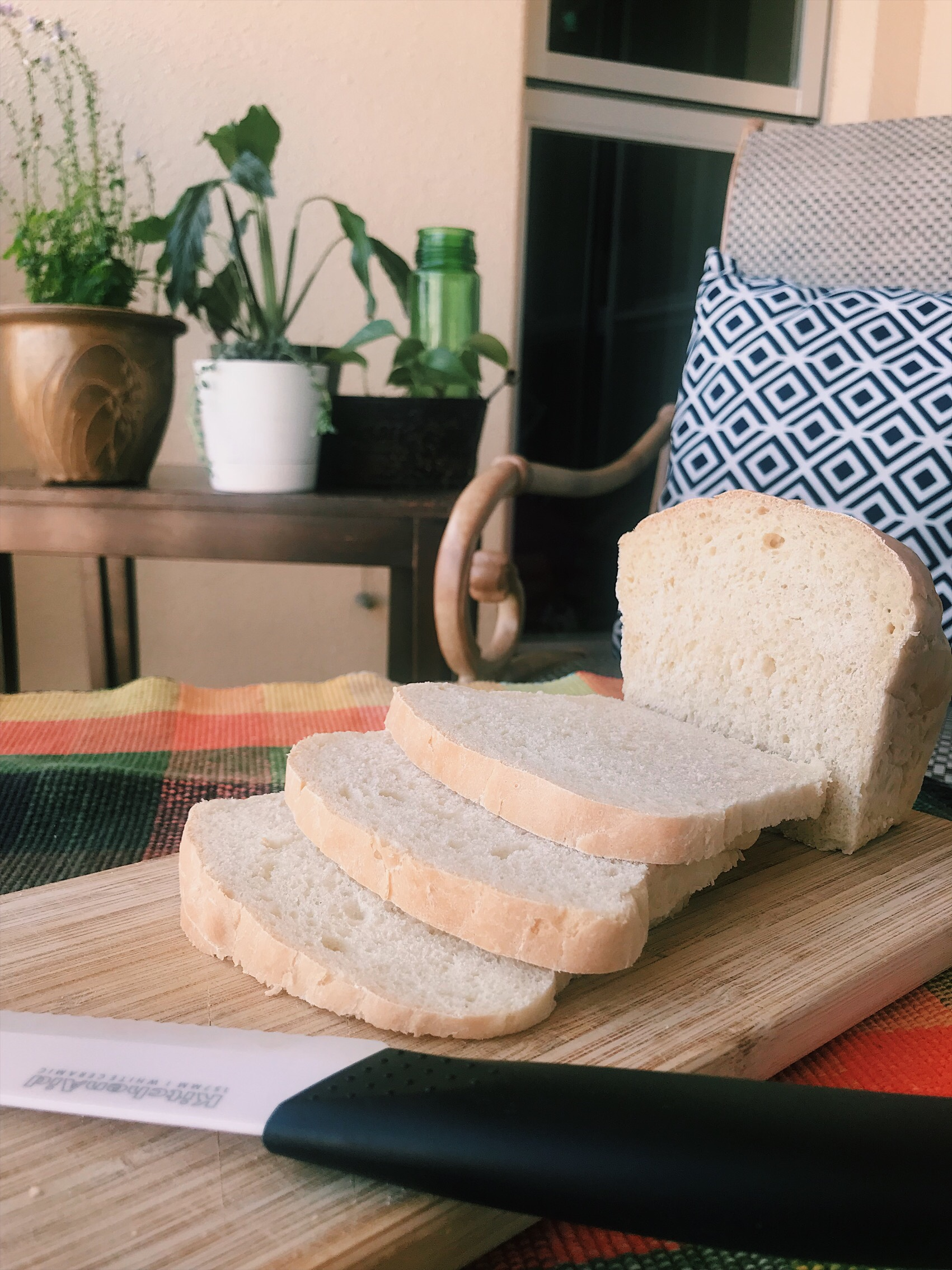 Mom's Easy Homemade Bread - Little Sustainable Steps