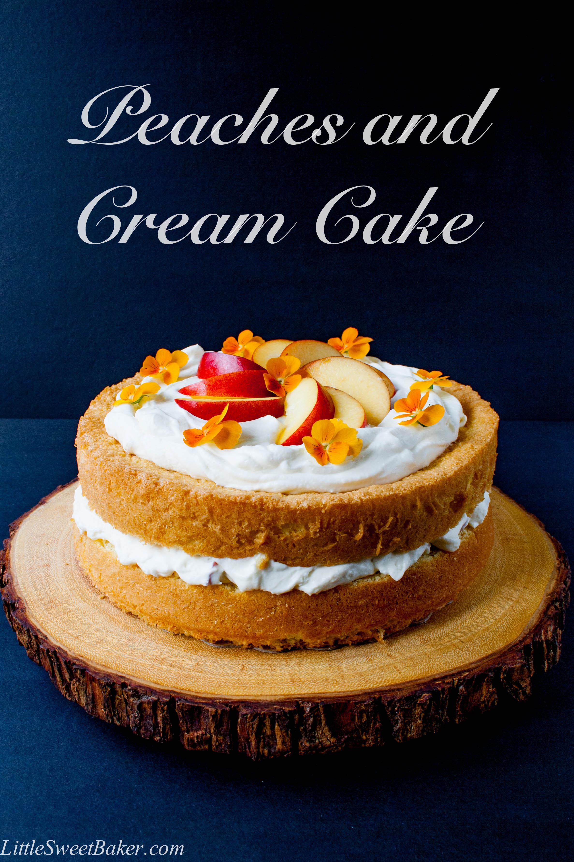 Vanilla Bean Magic Cake