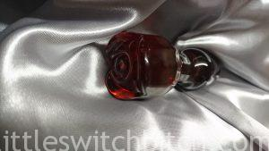 Sh! Rose Glass Butt Plug
