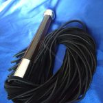 Bad Kitty Acrylic Handle Flogger