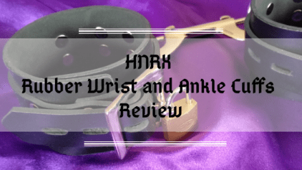 HNRX ES Bondage Rubber Wrist and Ankle Cuffs