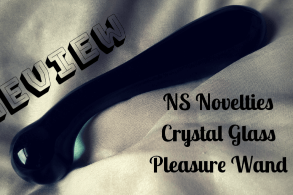 NS NOVELTIES CRYSTAL GLASS PLEASURE WAND