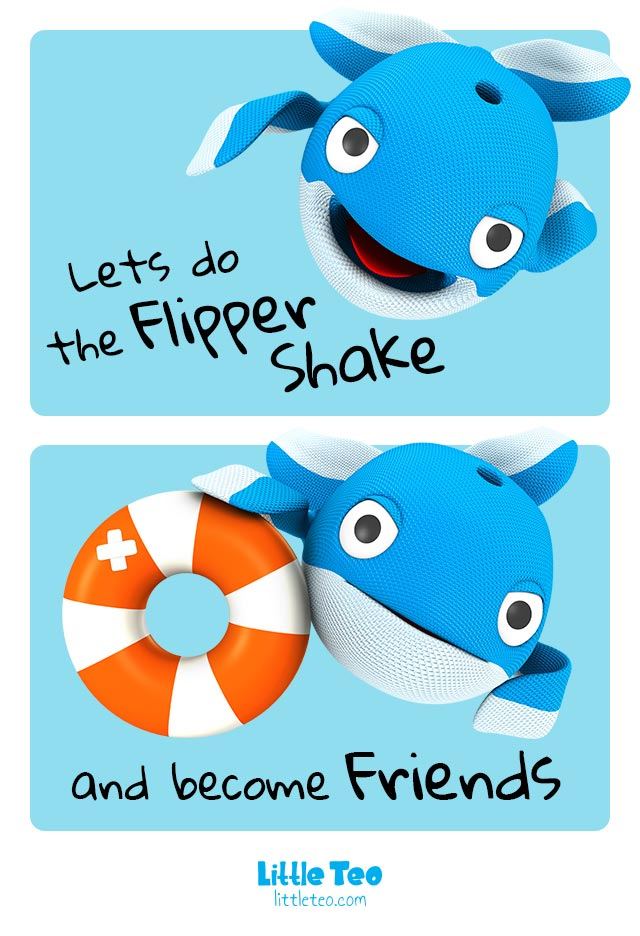 A whale friend | ADORABLE CUTE CHARACTER STORY PICTURE