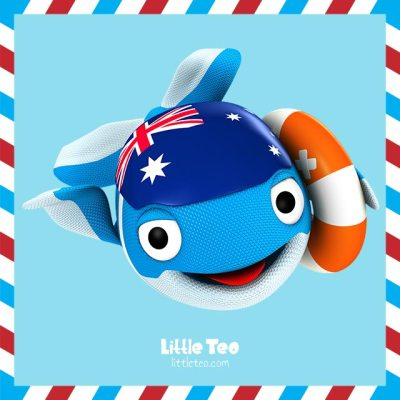 Cute Aussie whale | ADORABLE CUTE CHARACTER STORY PICTURE