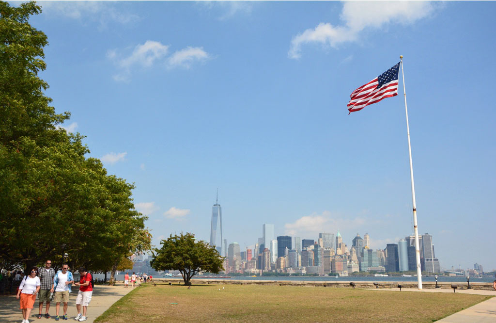 Voyage, mes incontournables pour visiter new-york, skyline, liberty island
