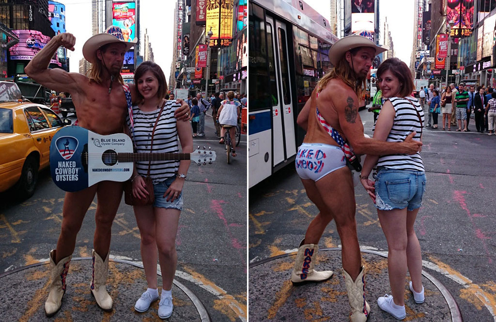 Voyage, mes incontournables pour visiter new-york, time square, naked cow boy