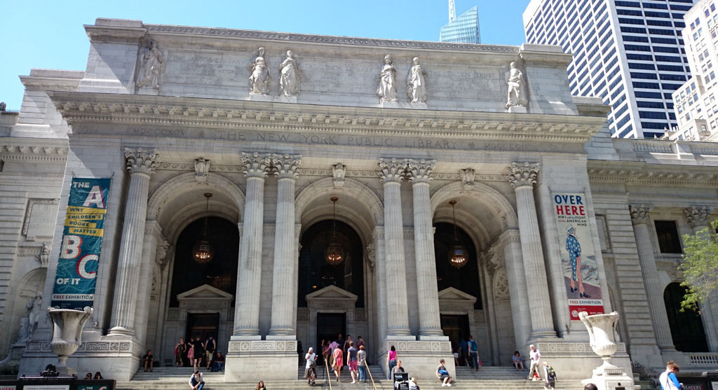 Voyage, mes incontournables pour visiter new-york, new-york public library, bibliotheque