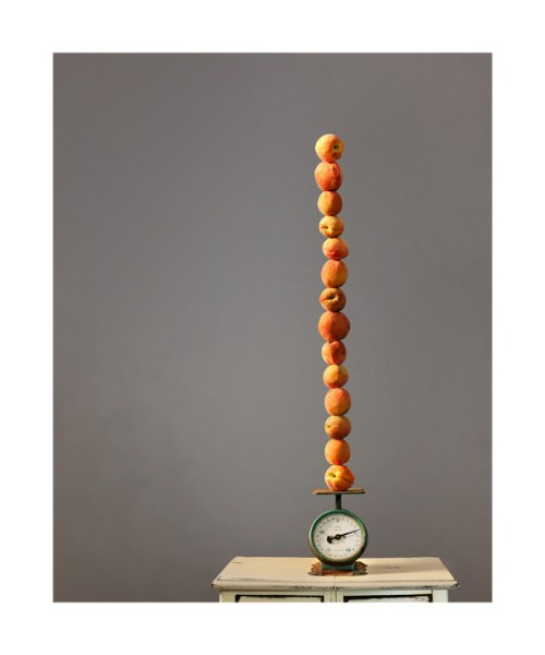 Stacked Peaches by Erin Niehenke