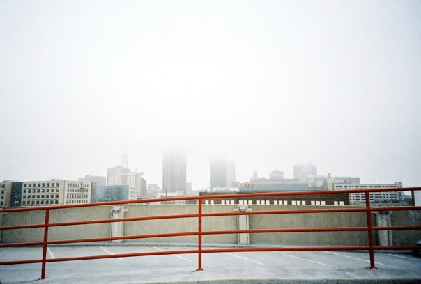 foggy Des Moines in film