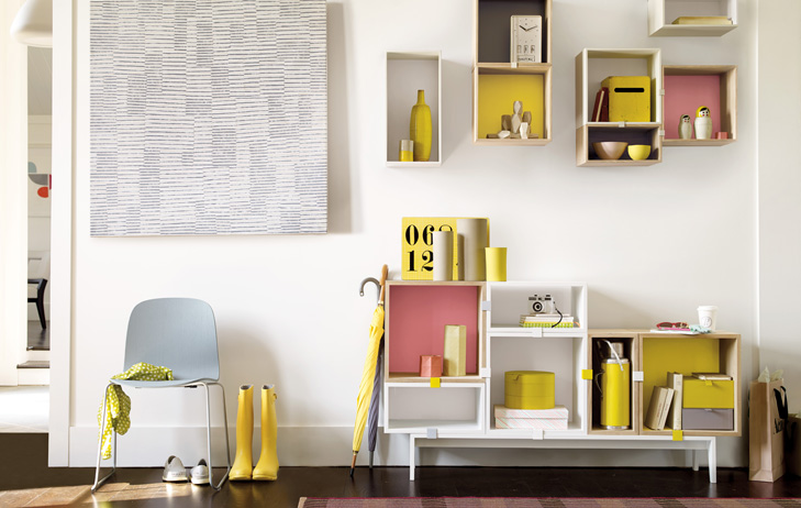 Decoraci n y mobiliario n rdico colores pastel for Mobiliario nordico