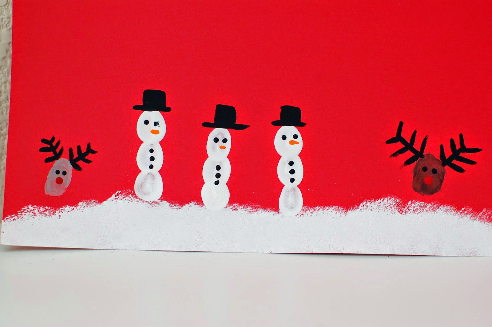 Christmas Hand Painting Little Things In Life Xo