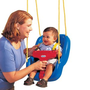 2-in-1 Snug 'n Secure™ Swing - Blue
