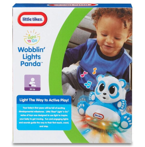 Little Tikes Wobblin Lights Panda Complete Pack