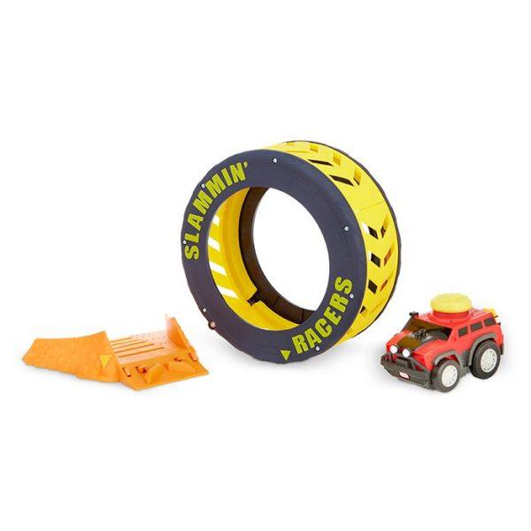 Slammin Racers Turbo Tire Playset Complete