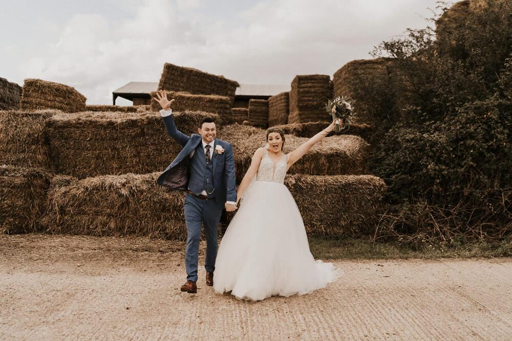 Real wedding inspiration – The Barns, Lodge farm