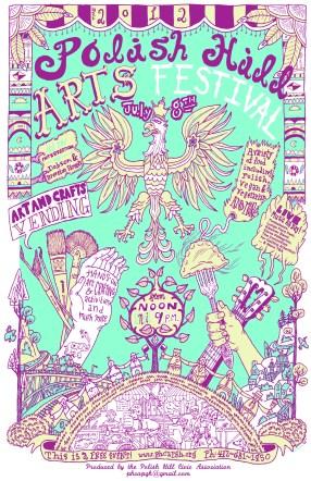 2012 Polish Hill AF Poster2