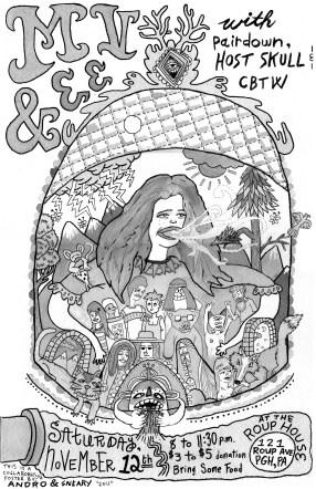 MV & EE Concert Poster 2011