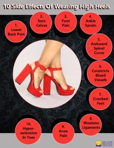 10 Side Effects Of Wearing High Heels-600