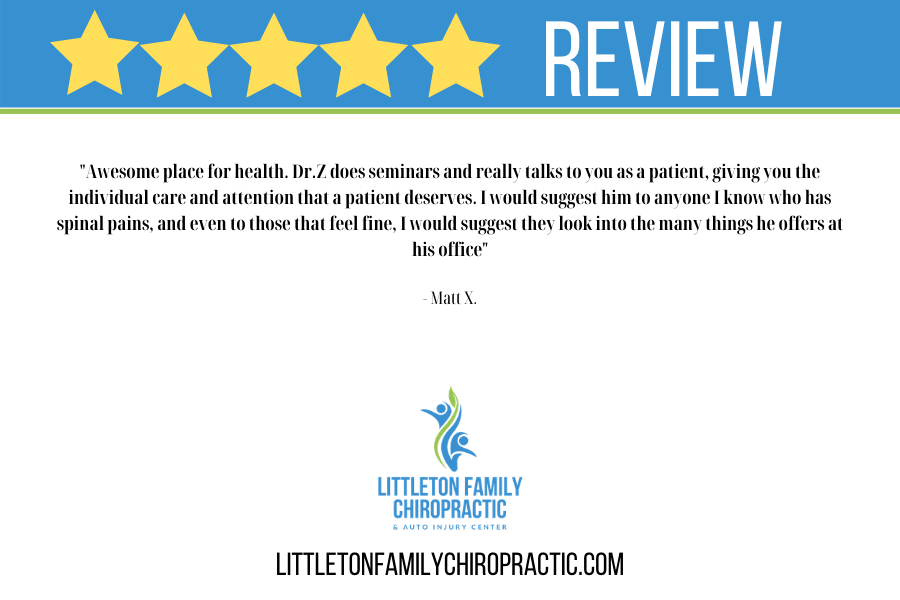 Littleton Family Chiropractic & Auto Injury Center Review Littleton Chiropractor Ken Caryl Chiropractor Dr Zagiba Littleton Chiropractor Review