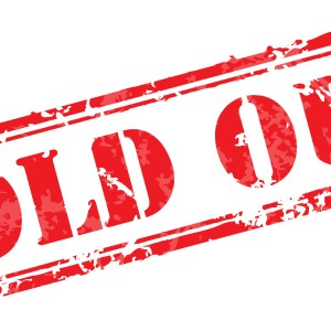 Sunday 3pm Show is Sold Out
