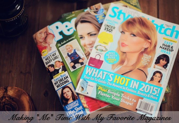 "Making ""Me"" Time With My Favorite Magazines"