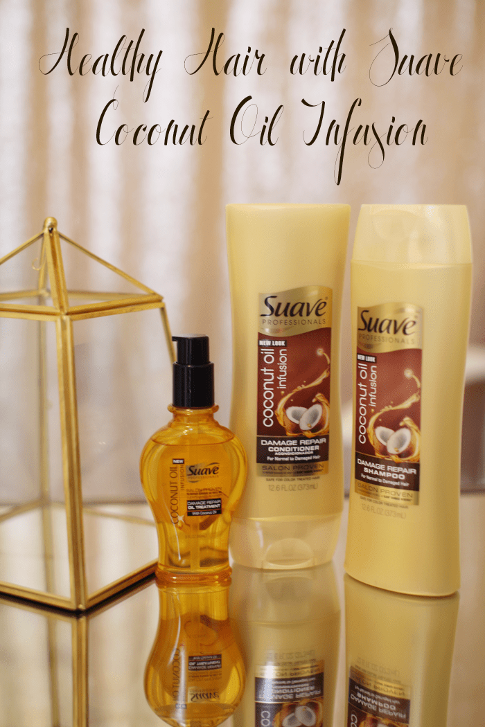 Tips For Healthy Hair With Suave Coconut Oil Infusion Little Tree