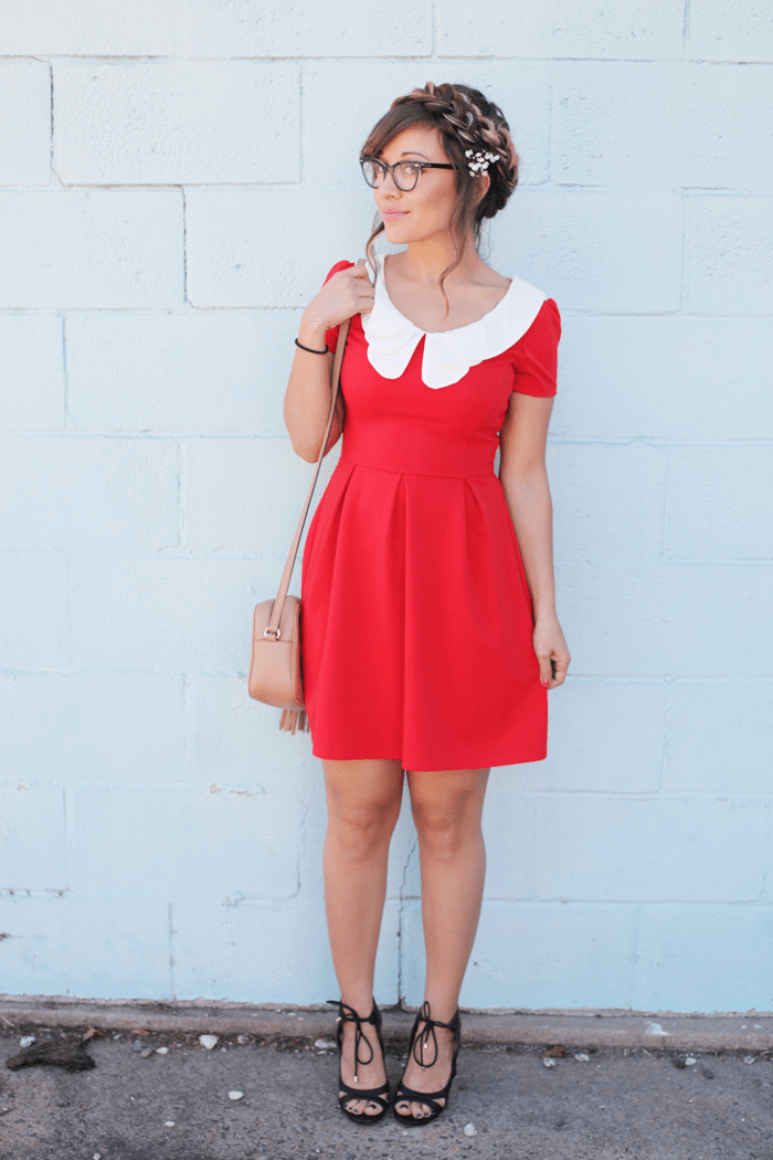 Learn how to pick out a dress that's perfect for a casual day, that turns into a fancier night with fashion, lifestyle, and beauty blogger Little Tree vintage.