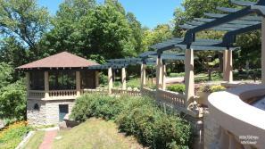 Pertgola and Gardens