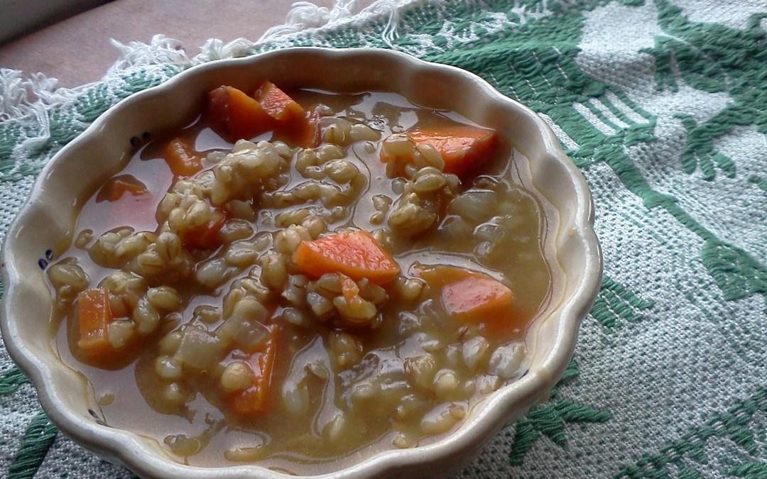 Simple Barley Soup