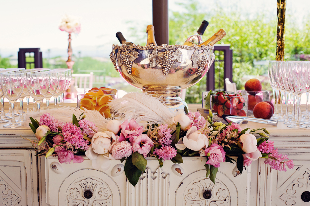 Whimsical Kitchen Themed Bridal Shower At Red Rock Country