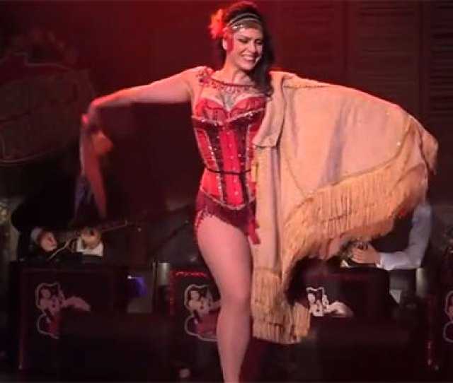 Danielle Colby Who Performs Under The Name Dannie Diesel Is One Of The Headlining Performers Of The Iowa Burlesque Festival This Weekend