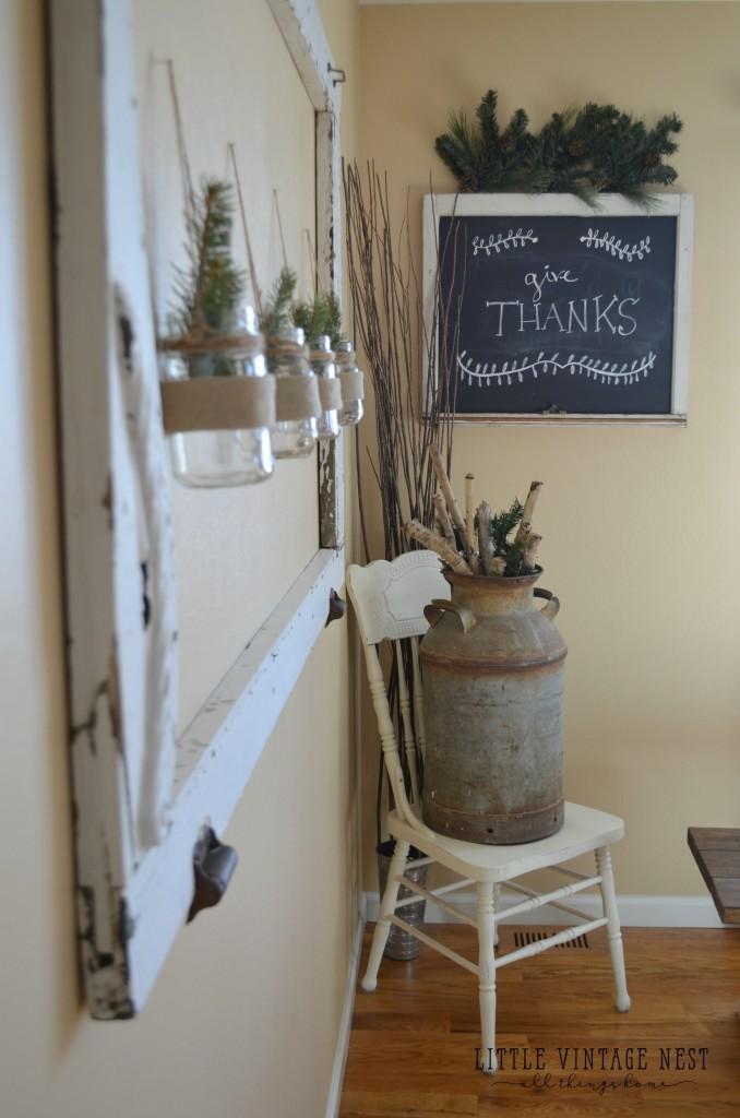 Easy DIY Chalkboard From An Old Window Little Vintage Nest