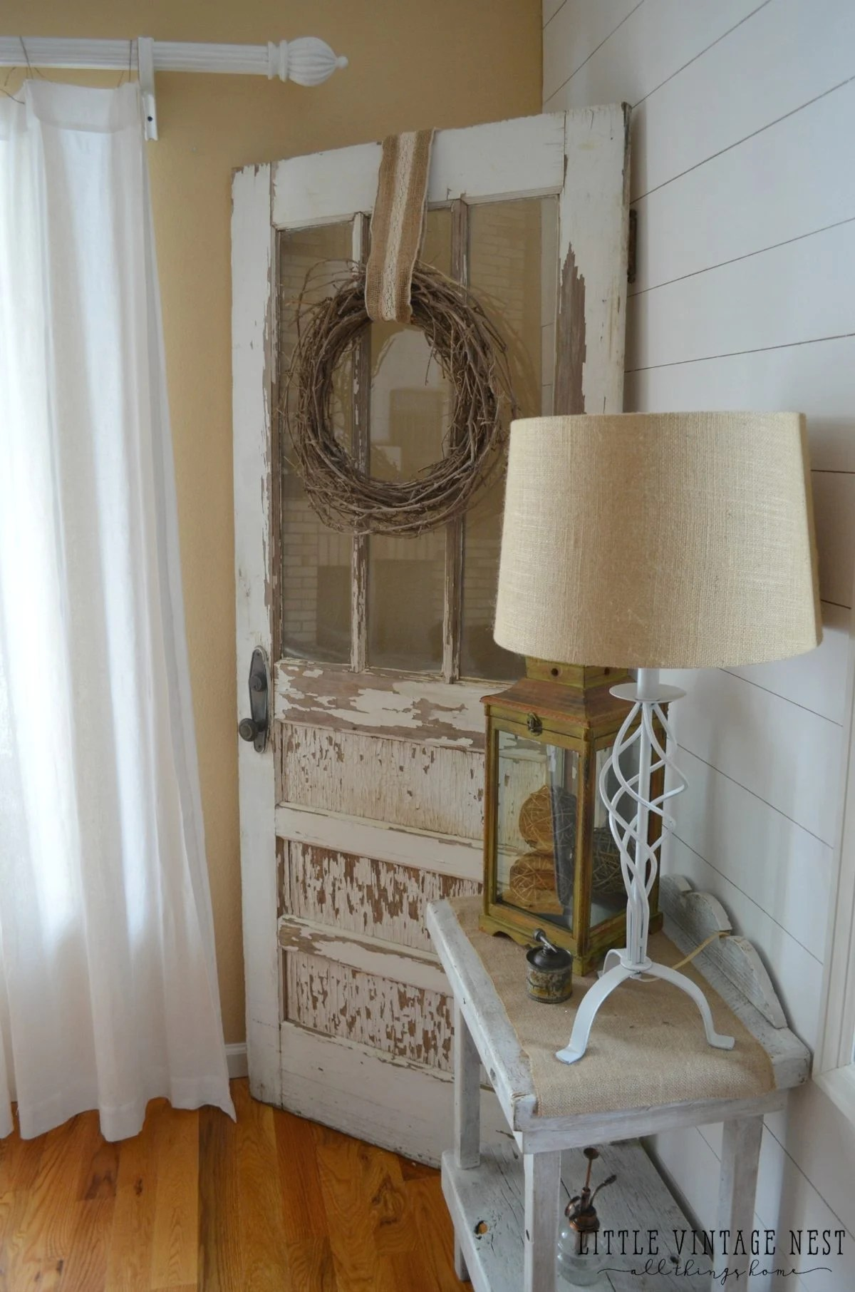 10 Ways to Get Farmhouse Style in Your Home on Farmhouse Curtains Ideas  id=53365