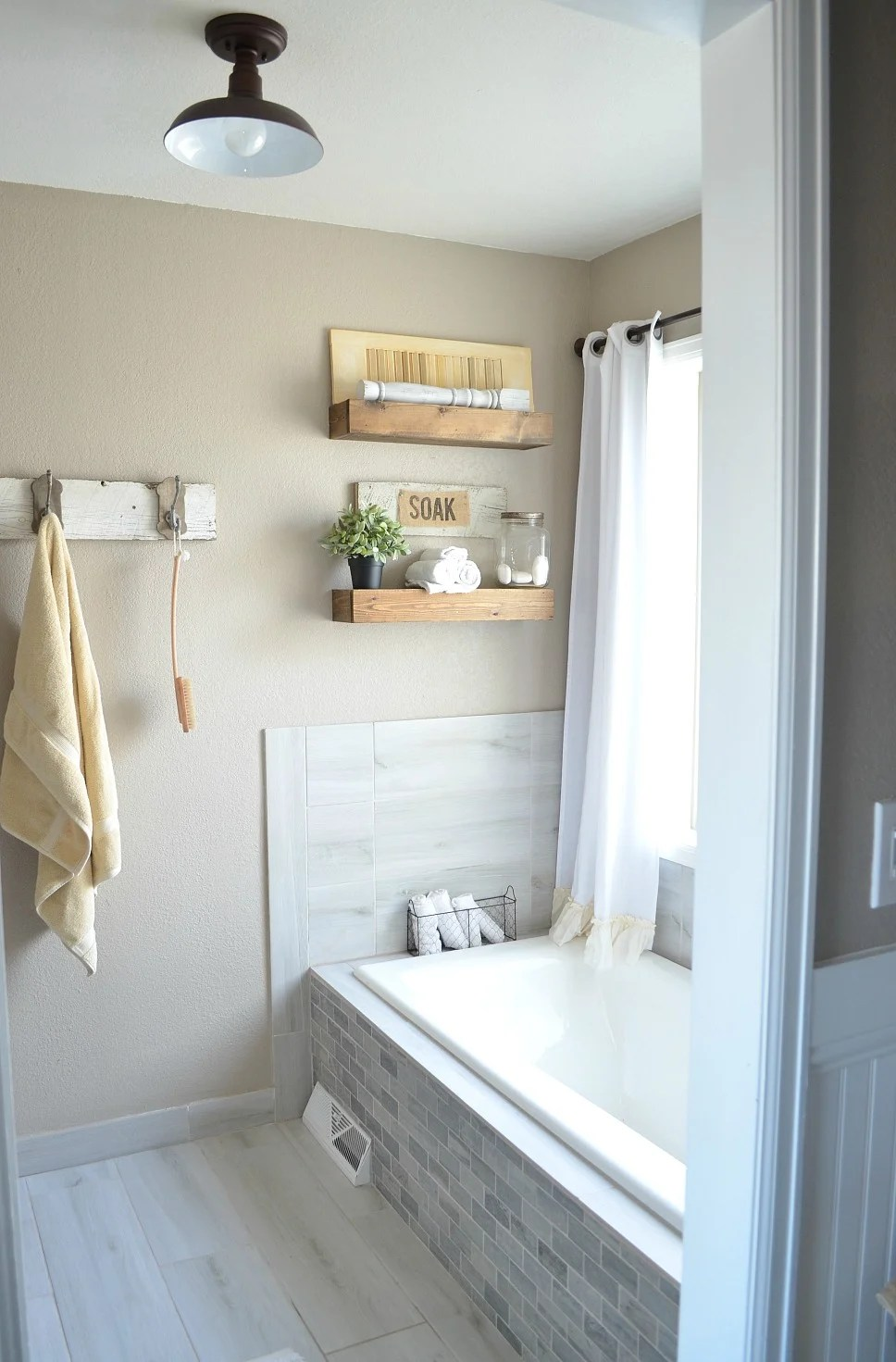 Honest Review of My Chalk Painted Bathroom Vanities on Farmhouse Bathroom Ideas  id=72364