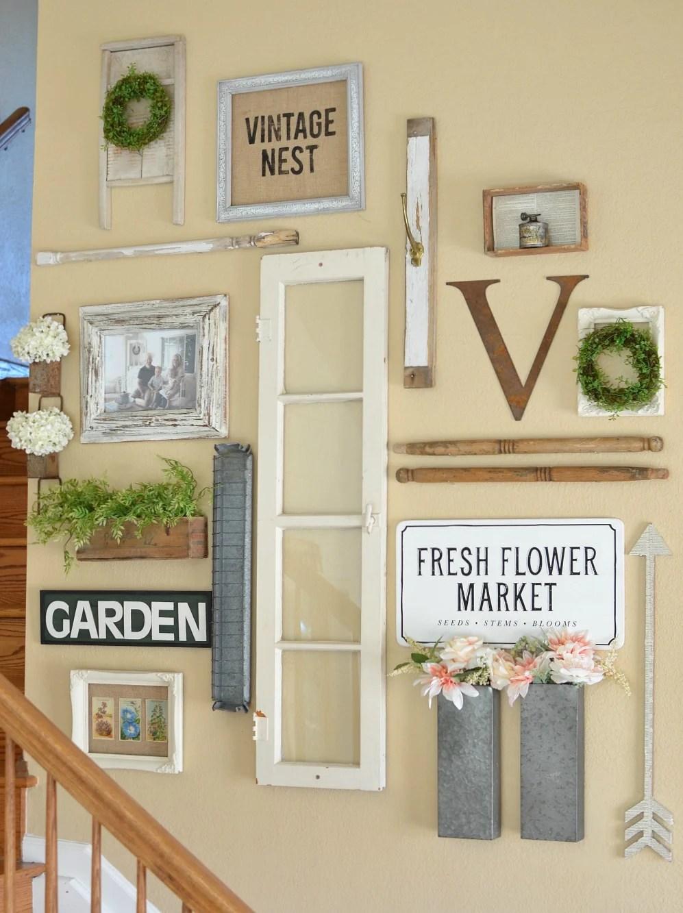 title | vintage farmhouse wall decor